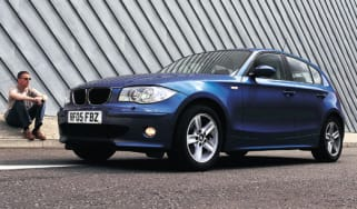 Front view of BMW 120d SE