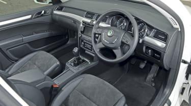 Skoda Superb Greenline interior