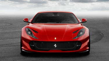 Ferrari 812 Superfast head on