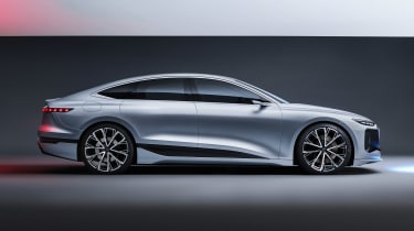 Audi A6 e-tron concept - side studio
