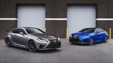 Lexus RC F and RC F Track Edition - static