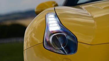 Ferrari California T Handling Speciale - front light detail