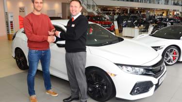 Honda Civic long-term review - handover