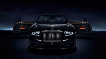Rolls-Royce Dawn Black Badge - front doors open