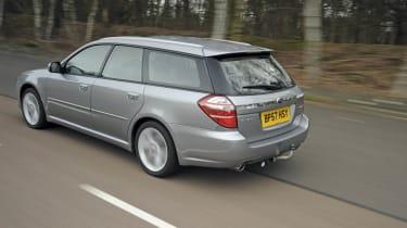 Subaru rear