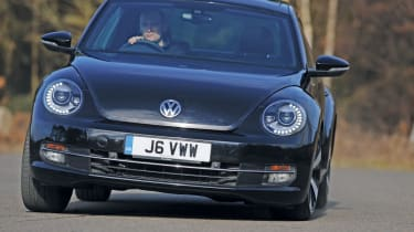 VW Beetle front tracking