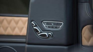 Mercedes-Maybach G 650 Landaulet - seat controls