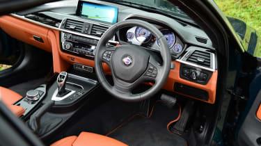 Alpina B4 S Coupe - interior