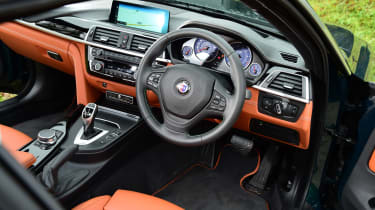 Alpina B4 S Coupe - interior