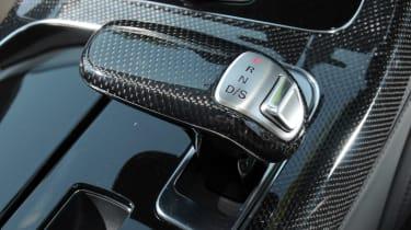 Audi S8 gear lever detail