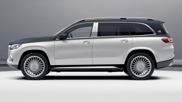 Mercedes-Maybach GLS - side studio
