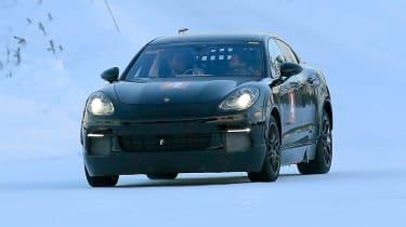 Porsche Cayenne Coupe front