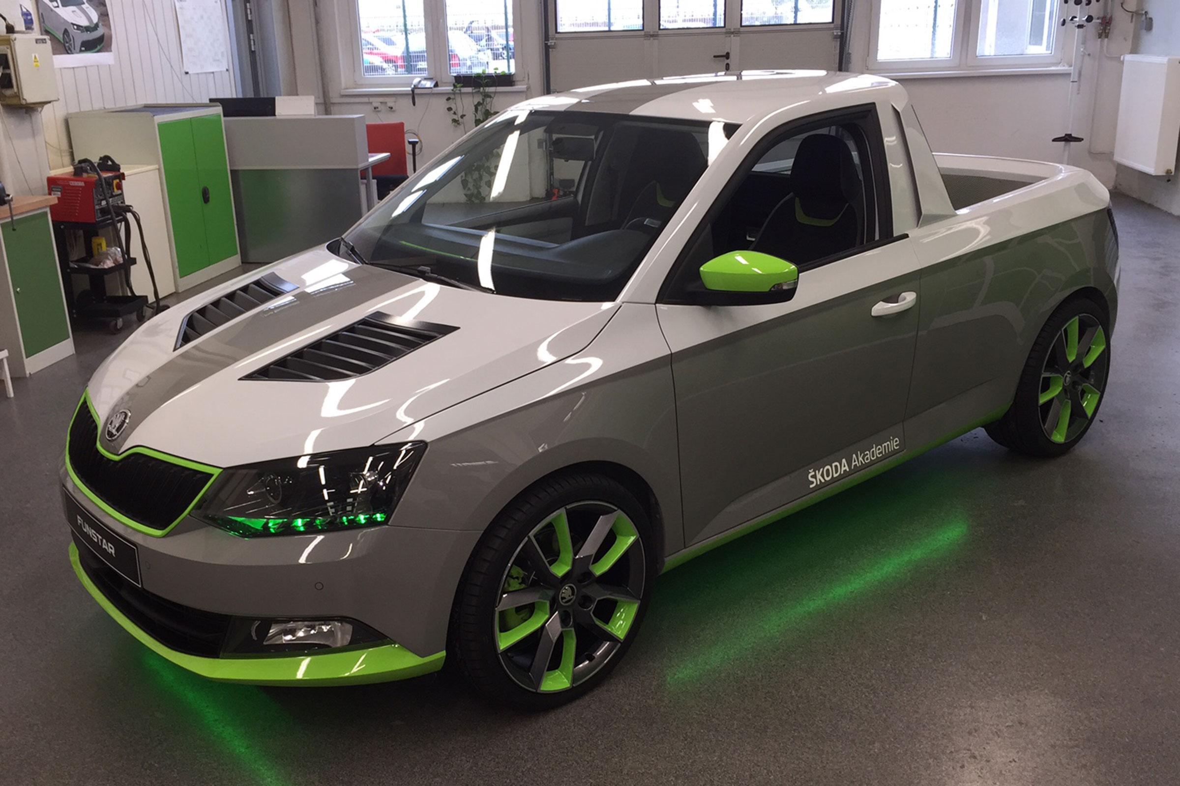Unique Skoda Fabia Funstar Pick Up Revealed Auto Express