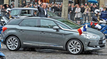 Charles de Gaulle isn't the only French president to have fallen in love with DS, as current leader Francois Hollande took delivery of a DS 5 in 2012. As you'd expect for someone in the public eye, the President chose the ultra-efficie