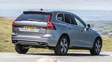 New Volvo XC60 review - rear