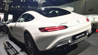 Mercedes-AMG GT - LA rear