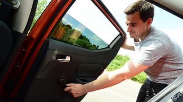 Nissan Micra long-term review - door