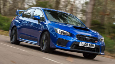 Subaru WRX STi Final Edition - front