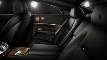 Rolls-Royce Wraith 'Inspired By Music' rear seats