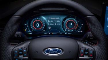 Ford Focus facelift - dials