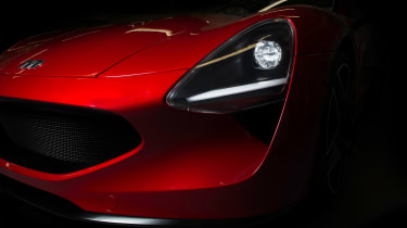 TVR Griffith - front detail