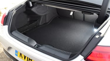 Mercedes CLS boot space