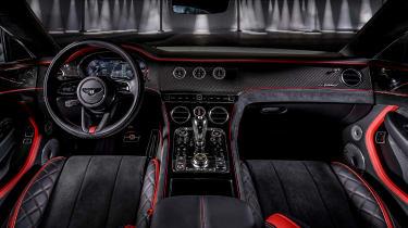 Bentley Continental GT Speed - dash