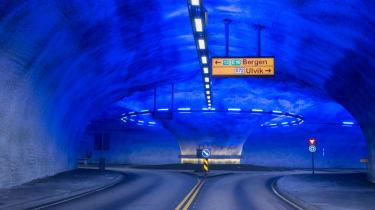 Record breaking roads - Laerdal Tunnel, Norway