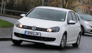 Best cheap fuel efficient cars - Volkswagen Golf BlueMotion