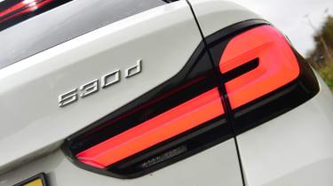 BMW 530d Touring - badge