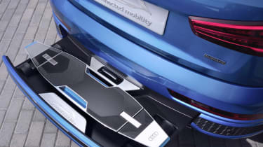 Audi Connected Mobility rear storage