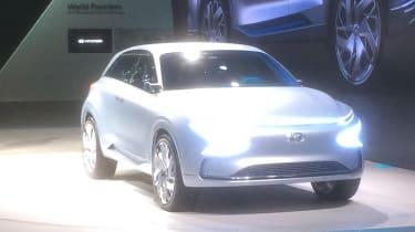 Hyundai FE Fuel Cell Concept show pics front 2