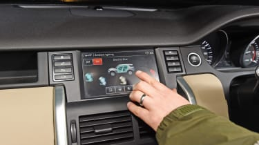 Land Rover Discovery Sport long-term - fifth report touchscreen