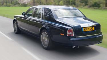 Rolls-Royce Phantom II rear tracking