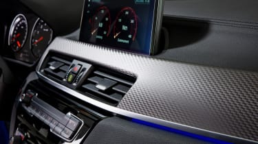 BMW X2 M35i - dash detail