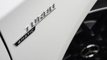 Mercedes-AMG A45 - side badge detail