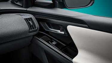 Toyota bZ4X concept - door detail