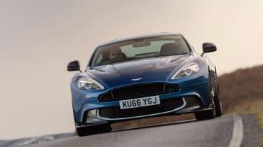 Aston Martin Vanquish S - front cornering