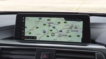 BMW 4 Series Gran Coupe - sat-nav