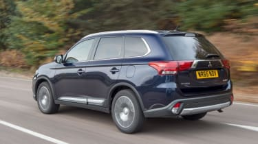 Used Mitsubishi Outlander - rear action