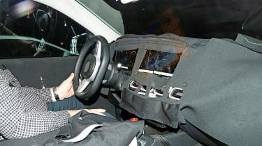 Mercedes GLE spied - interior