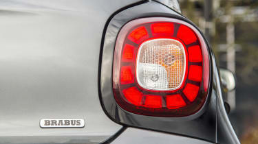 Smart Brabus ForFour 2017 - rear light