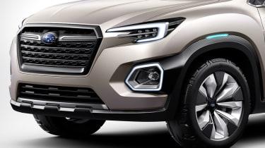 Subaru VIZIV-7 SUV Concept - front detail