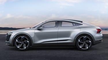 Audi e-tron Sportback concept - side