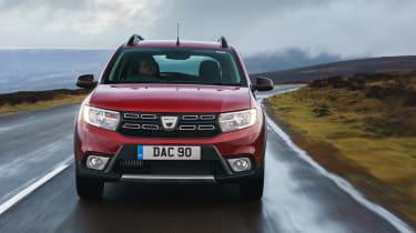 Dacia Sandero Stepway Techroad - full front
