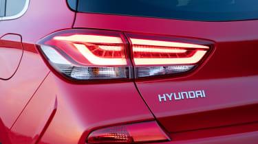 Hyundai i30 N Line tail light