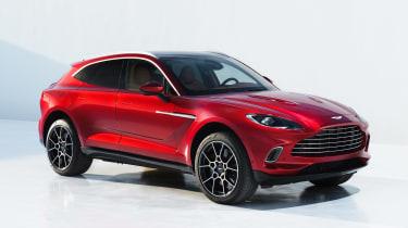 Aston Martin DBX - front studio