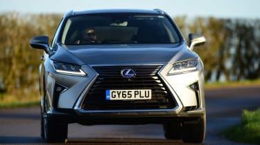 Lexus RX - front driving