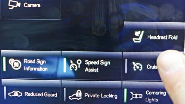 Volvo S90 long-termer - touchscreen