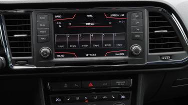 SEAT Ateca - infotainment screen
